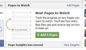 Pages to Watch en Facebook