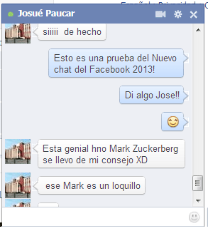 Facebook lanza nueva version de chat