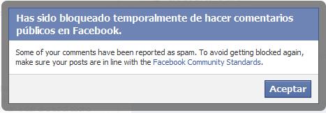 Porque Facebook puede cancelar una cuenta