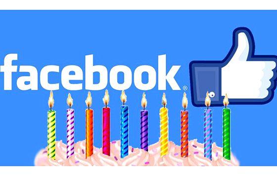 Facebook 10 años de historia
