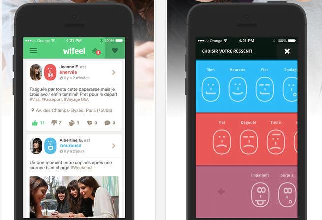 Wifeel la red social de las emociones