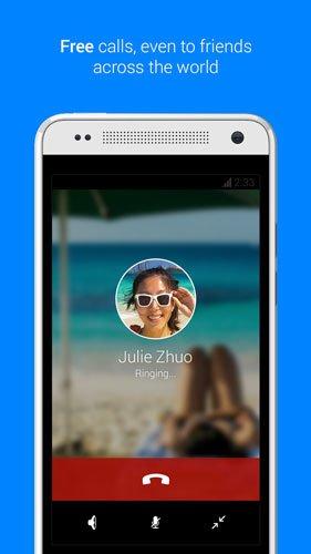Facebook Messenger incluye servicio de llamadas gratuitas