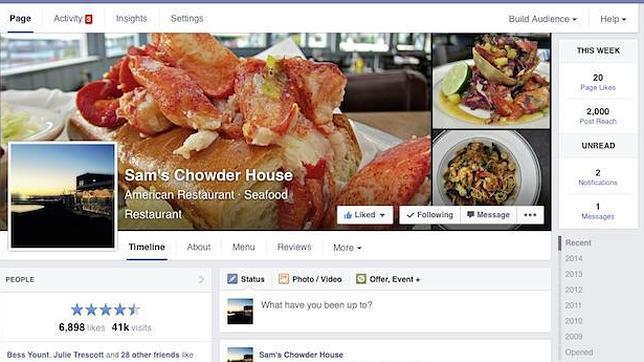 Facebook lanza nuevo diseño de paginas a nivel mundial