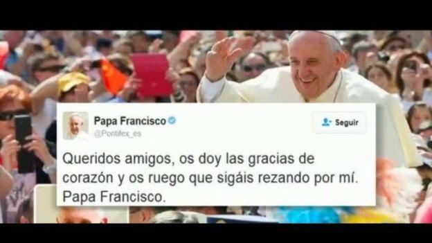 Papa Francisco, popular en Twitter
